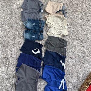 10 pair - 18 month boys shorts